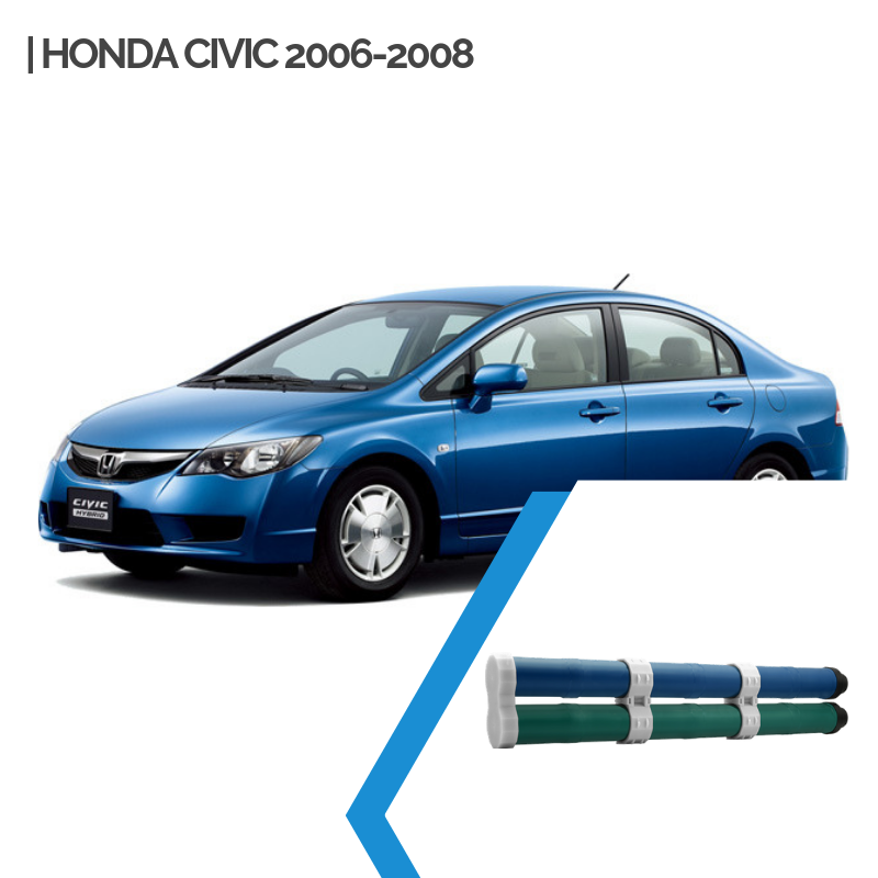 EnnoCar Ni-MH 158V 6.5Ah Cylindrical Hybrid Car Battery for Honda Civic Gen2 2006-2011