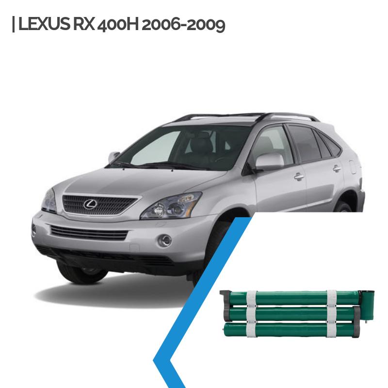 EnnoCar Ni-MH 288V 6.5Ah Cylindrical Hybrid Car Battery for Lexus RX 400H 2006-2009