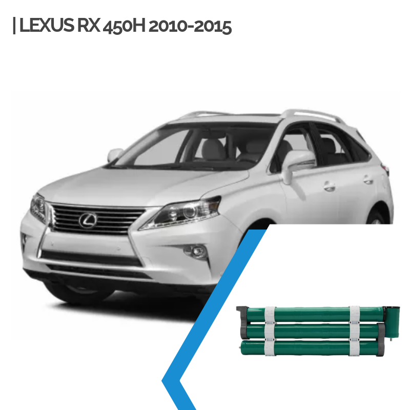 EnnoCar Ni-MH 288V 6.5Ah Cylindrical Hybrid Car Battery for Lexus RX 450H 2010-2015