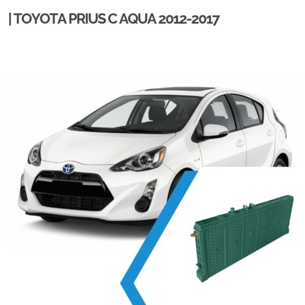 Toyota Prius C Aqua Hybrid Car Battery Replacement 2012-2017