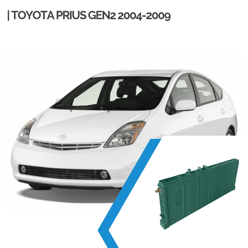 Toyota Prius Gen2 Hybrid Car Battery Replacement 2004-2009_wps图片