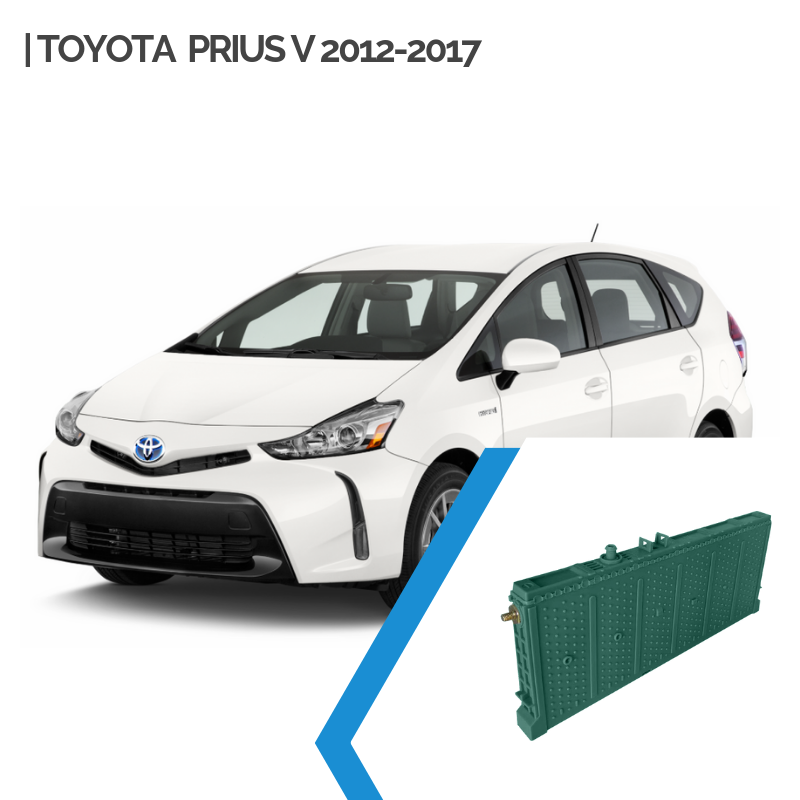 Toyota Prius V Hybrid Car Battery Replacement 2012-2017
