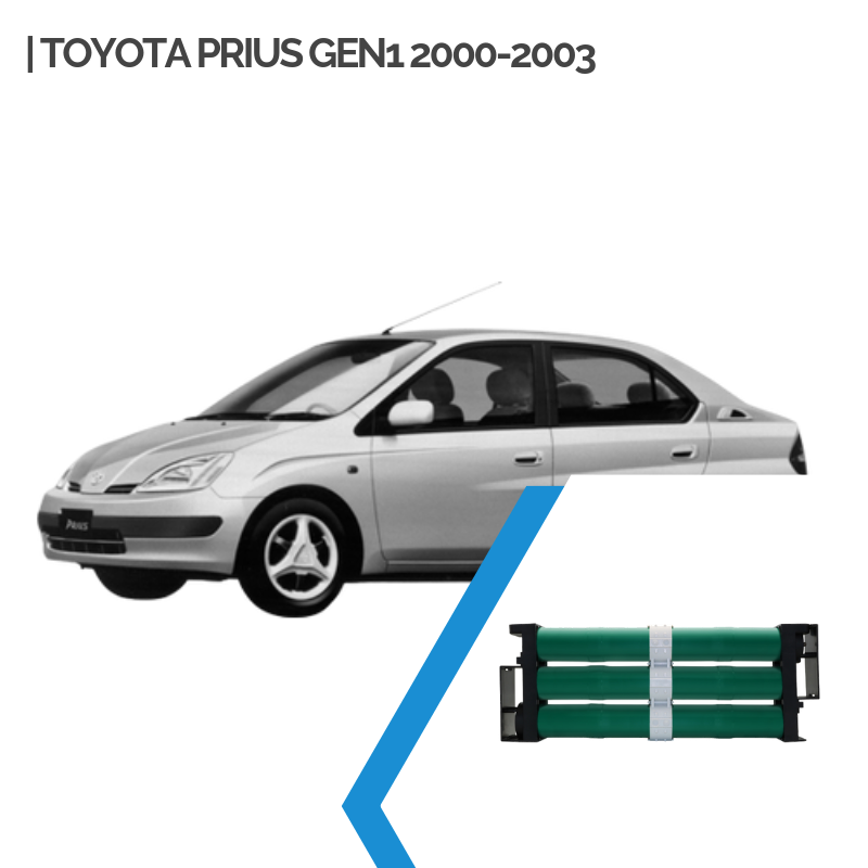 Hybrid Car Battery Replacement for Toyota Prius Gen1 2000-2001