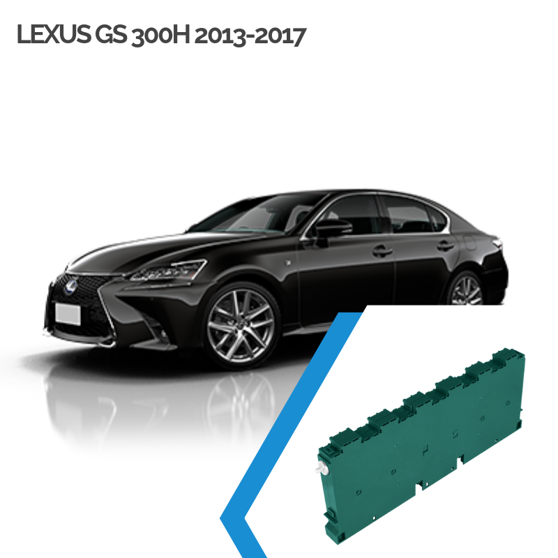 EnnoCar Ni-MH 230.4V 6.5Ah Steel Prismatic Hybrid Car Battery for Lexus GS 300H 2013-2017