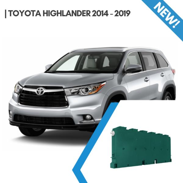 toyota highlander 2014-2019 hybrid car battery 288V