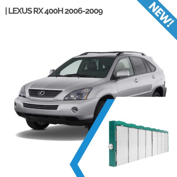 EnnoCar Ni-MH 288V 6.5Ah Steel Prismatic Hybrid Car Battery for Lexus RX400H 2006-2009