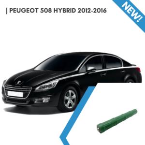 EnnoCar Ni-MH 201.6V 6.5Ah Cylindrical Hybrid Car Battery for Peugeot 508 2012-2016