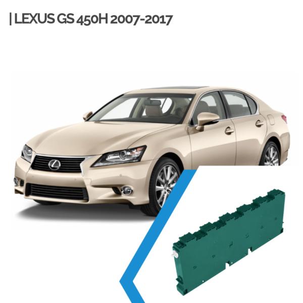 EnnoCar Ni-MH 288V 6.5Ah Steel Prismatic Hybrid Car Battery for Lexus GS 450H 2007-2017