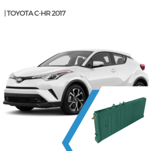 Toyota CHR Hybrid car battery