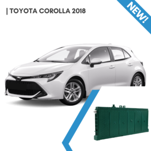 Toyota Corolla 2018 - EnnoCar Prismatic Hybrid Car Battery Replacement